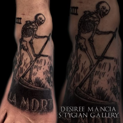 death-tarot-blackwork-skull-desireemancia