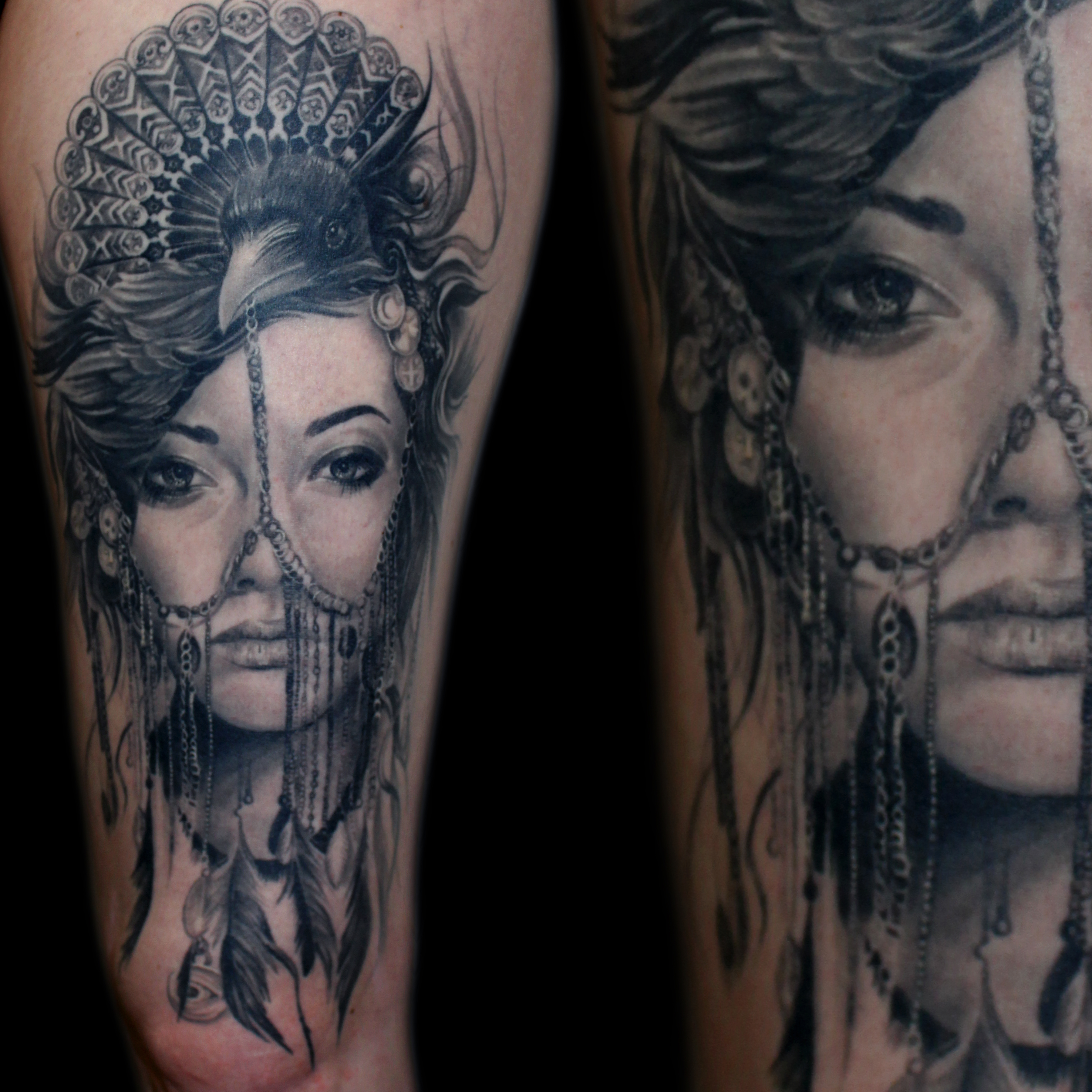 Featured archives stygian gallery for Ravens face tattoos